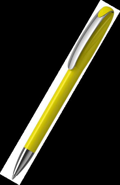 Klio-Eterna Kugelschreiber Boa high gloss MMn 41180 Gelb R
