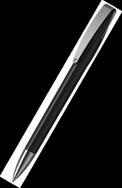 Klio-Eterna Kugelschreiber Cobra high gloss MMn 41034 Schwarz A