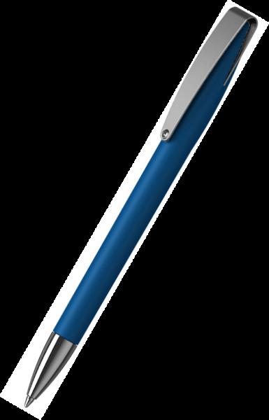 Klio-Eterna Kugelschreiber Cobra softtouch MMn 41049 Mittelblau MST