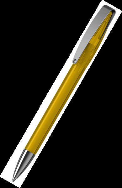 Klio-Eterna Kugelschreiber Cobra transparent MMn 41035 Sonnengelb STR