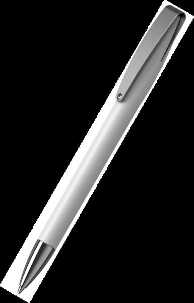 Klio-Eterna Kugelschreiber Cobra softtouch MMn 41049 Weiß UST