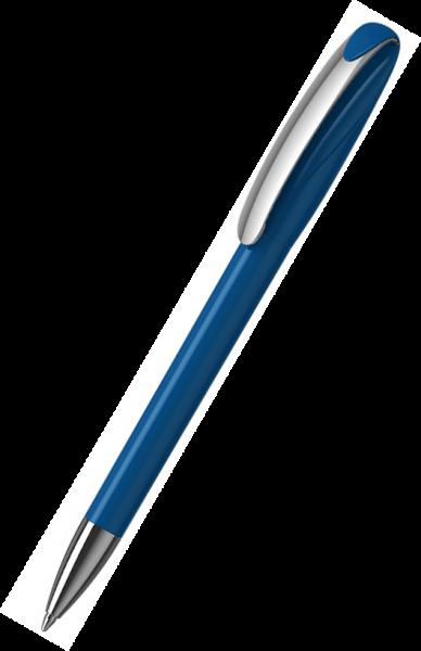 Klio-Eterna Kugelschreiber Boa high gloss MMn 41180 Mittelblau M