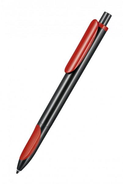 Ritter Pen Kugelschreiber Ellips 07200 Schwarz-Signal-Red 1500-0601
