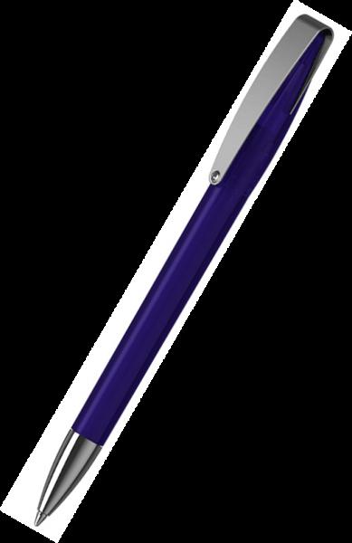 Klio-Eterna Kugelschreiber Cobra transparent MMn 41035 Dunkelblau DTR1
