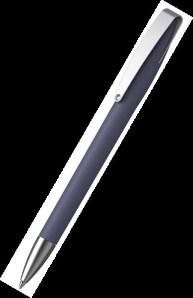 KLIO-ETERNA Kugelschreiber Cobra softgrip MMs 41070 Saphirblau MSG