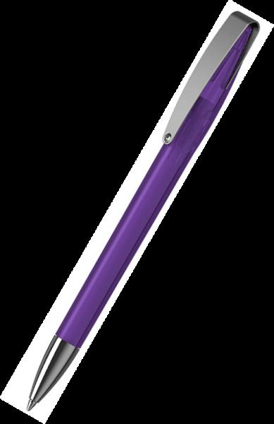 Klio-Eterna Kugelschreiber Cobra transparent MMn 41035 Violett VTR1