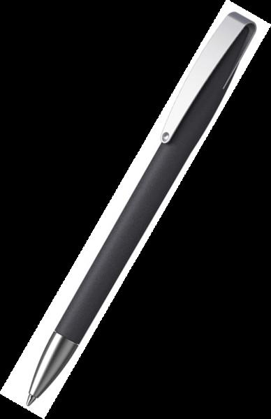 KLIO-ETERNA Kugelschreiber Cobra softgrip MMs 41070 Schwarz ASG