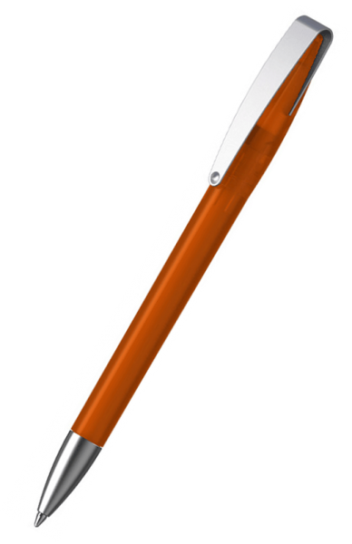 Klio-Eterna Kugelschreiber Cobra ice MMs 41036 Orange-Rot HTI