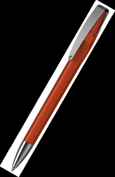 Klio-Eterna Kugelschreiber Cobra transparent MMn 41035 Orangerot HTR