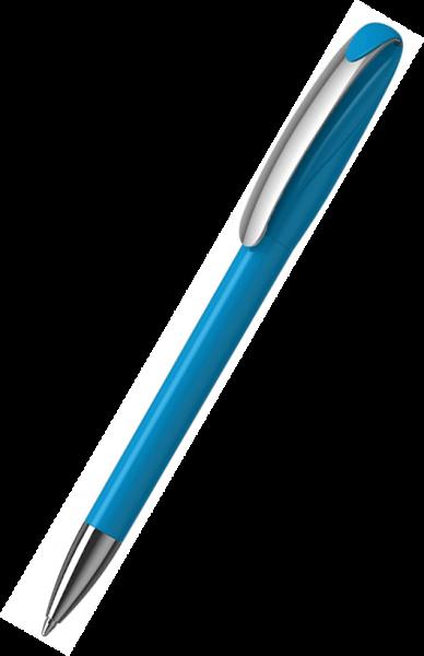 Klio-Eterna Kugelschreiber Boa high gloss MMn 41180 Cyan TQ