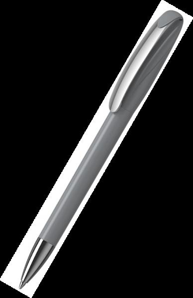 Klio-Eterna Kugelschreiber Boa high gloss MMn 41180 Grau C