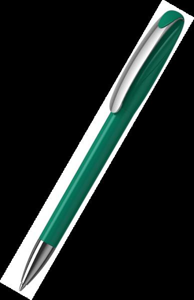 Klio-Eterna Kugelschreiber Boa high gloss MMn 41180 Mittelgrün Z