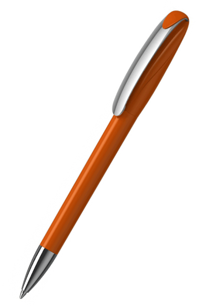 Klio-Eterna Kugelschreiber Boa high gloss MMn 41180 Dunkelorange W