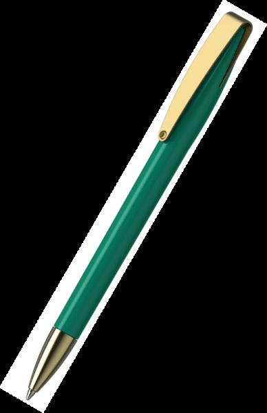 Klio-Eterna Kugelschreiber Cobra high gloss MMg 41038 Mittelgrün Z