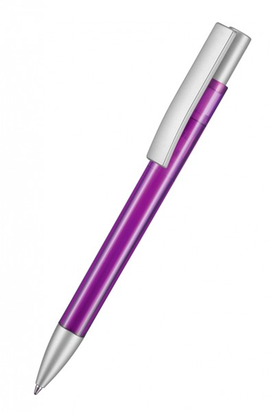 Ritter Pen Kugelschreiber Stratos Transparent SI 37901 Pflaumen-Lila 3903