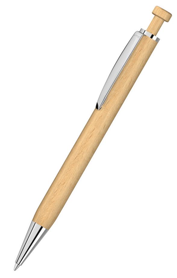 uma Kugelschreiber aus Holz LEAF