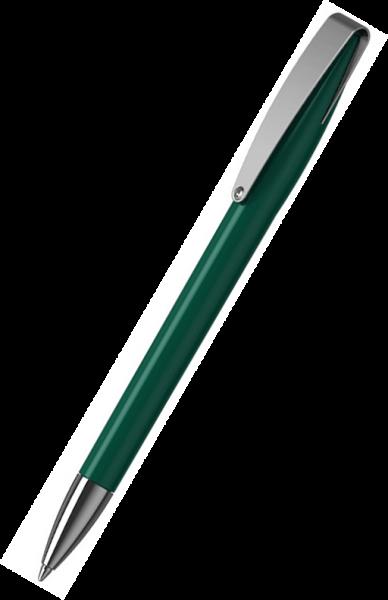 Klio-Eterna Kugelschreiber Cobra high gloss MMn 41034 Dunkelgrün I