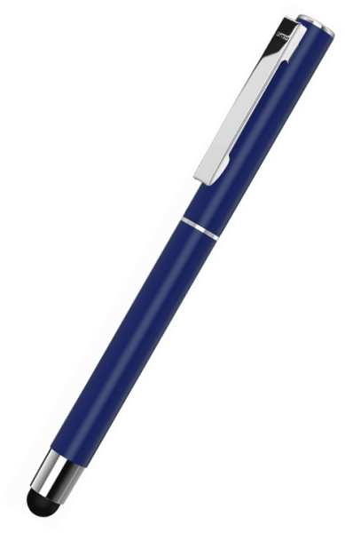 UMA Metall-Rollerball Touchpen STRAIGHT SI R TOUCH 0-9452 SI R TO Dunkelblau