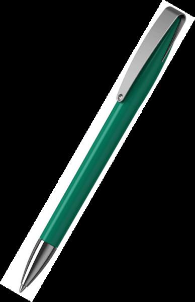Klio-Eterna Kugelschreiber Cobra high gloss MMn 41034 Mittelgrün Z