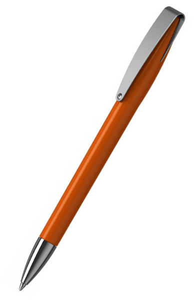 Klio-Eterna Kugelschreiber Cobra high gloss MMn 41034 Dunkelorange W