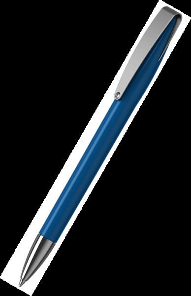 Klio-Eterna Kugelschreiber Cobra high gloss MMn 41034 Mittelblau M