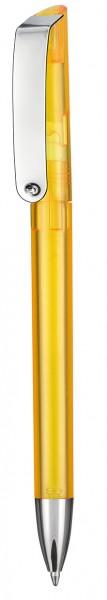 Ritter Pen Kugelschreiber Glossy Transparent 10086 Sonnenblumen-Gelb 3229