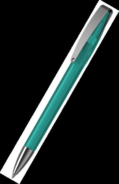 Klio-Eterna Kugelschreiber Cobra transparent MMn 41035 Türkis TTR