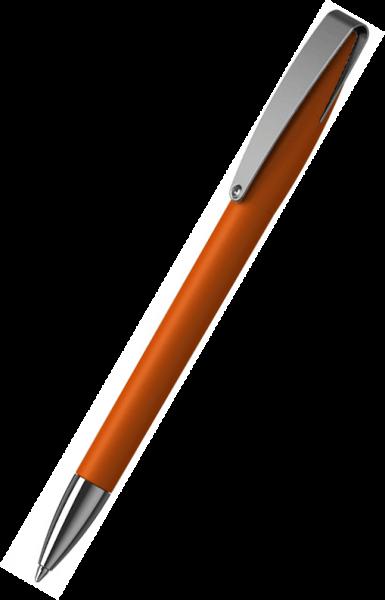 Klio-Eterna Kugelschreiber Cobra softtouch MMn 41049 Dunkelorange WST