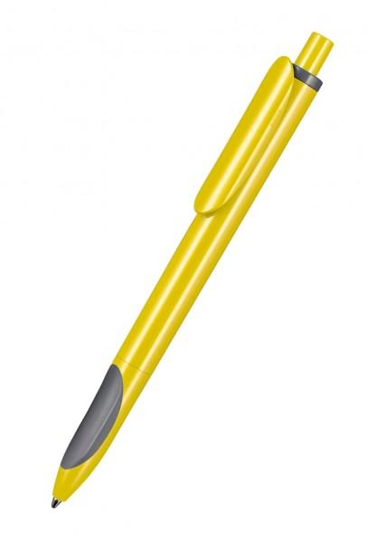 Ritter Pen Kugelschreiber Ellips 07200 Zitronen-Gelb-Stein-Grau 0200-1400