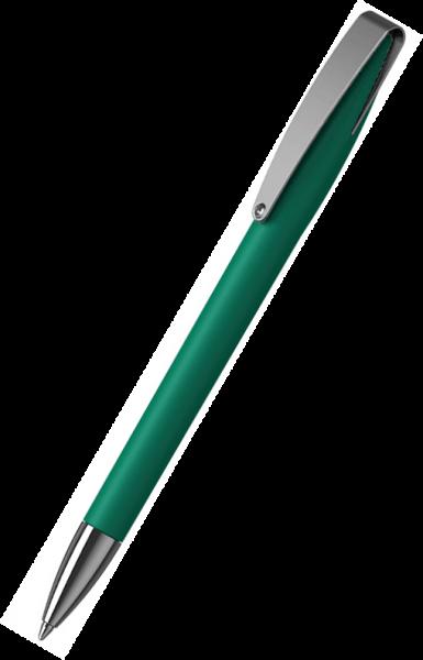 Klio-Eterna Kugelschreiber Cobra softtouch MMn 41049 Mittelgrün ZST