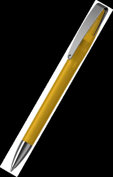 Klio-Eterna Kugelschreiber Cobra softfrost MMn 41050 Sonnengelb STIST