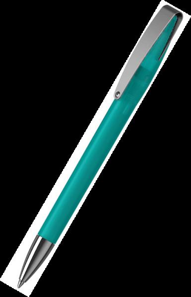 Klio-Eterna Kugelschreiber Cobra softfrost MMn 41050 Türkis TTIST