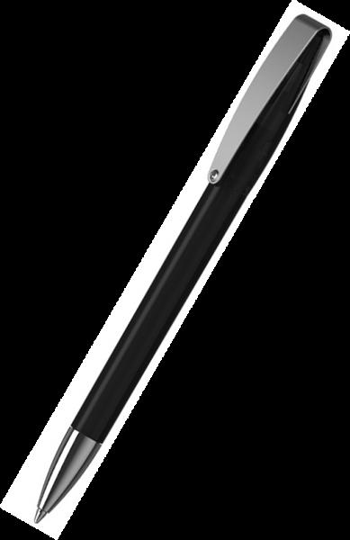Klio-Eterna Kugelschreiber Cobra transparent MMn 41035 Schwarz ATR